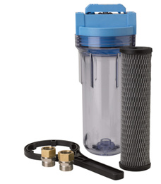 Inline Sediment Water Filter
