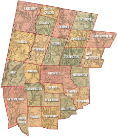 Litchfield County Map